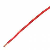 Cable primario, calibre 10, rollo 2.5 m, rojo
