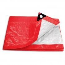 Lonas rojas, 110 g/m2, espesor de 0.14 mm, Pretul