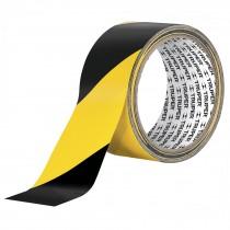 Cinta delimitadora, amarilla / negro, 33m