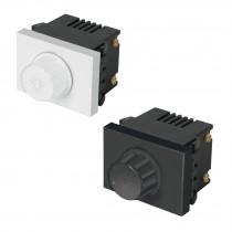 Atenuadores de luz rotativos, 1.5 módulos, línea Española