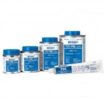 Cementos (pegamentos) para PVC, alta presión, azules