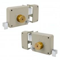 Cerraduras de sobreponer, instala-fácil llave tetra