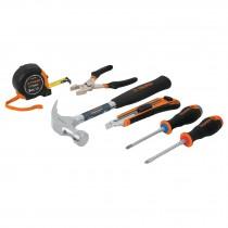 Juego casero de herramientas, 6 piezas