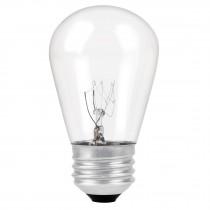 Lámpara incandescente S14, 11 W, para serie de luz