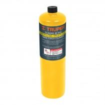 Cilindro de gas propileno de 400g, amarillo