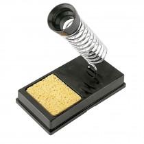 Base para cautín tipo lápiz con limpiador de esponja