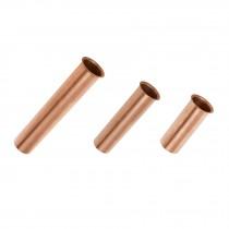 Casquillos de cobre para contra canastas de fregadero