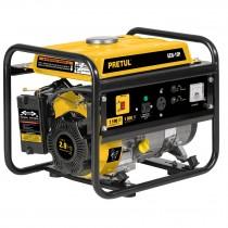Generador eléctrico con motor a gasolina, 1,100W, Pretul