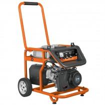Generador eléctrico portátil con motor a gasolina, 4,000W