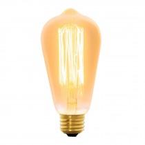 Lámpara incandescente vintage, 40W, Edison