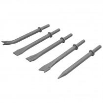 Cinceles para martillo neumático TPN-711, 5 piezas