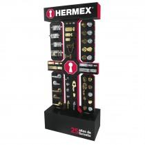 Exhibidor de piso Hermex