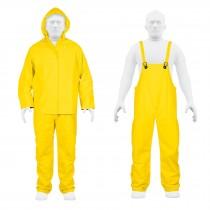 Conjuntos impermeables amarillos