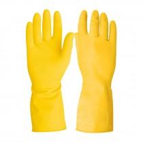 Guantes de látex antiderrapantes amarillos