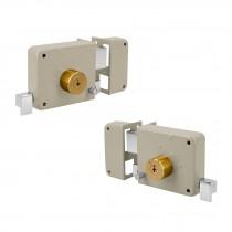 Cerraduras de sobreponer instala-fácil, llave tetra, blíster