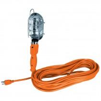 Lámparas de taller, metálicas con contacto aterrizado