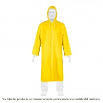 Gabardina impermeable, PVC, espesor 0.10 mm, mediana, Pretul