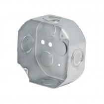 """Caja 4x4"""" octagonal, reforzada, Volteck"""