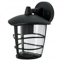 Arbotante farol susp, diseño moderno, lámpara no incluida