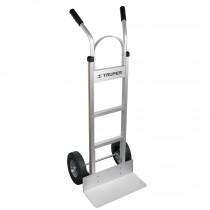 Diablo de carga de aluminio 300 kg ruedas imponchables