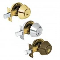 Cerrojos llave-llave, cilindro de latón, llave de puntos