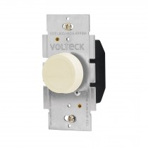 Atenuador de luz giratorio, Standard, marfil