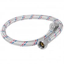 Manguera flexible para fregadero, 55cm, aluminio, Foset Basic