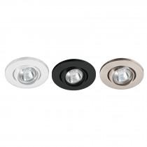 Luminarios empotrables esféricos, spot dirigible (lámpara no incluida)