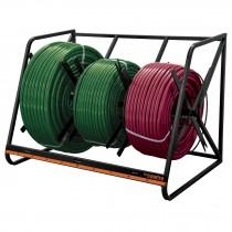 Rack para manguera y tubo flexible