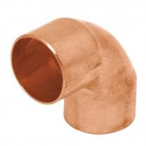 Codos 90°, cobre a cobre