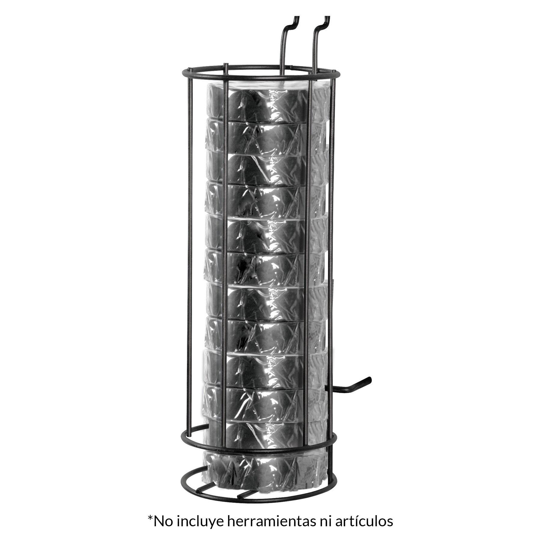 Rack con cintas de aislar