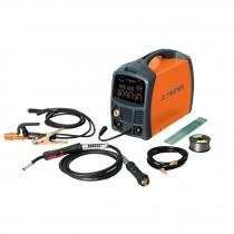 Soldadora para microalambre y electrodo, 130 Amps