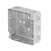 "Caja 4x4"" cuadrada, reforzada, Volteck"