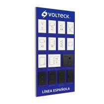 Exhibidor de Línea Española, Volteck