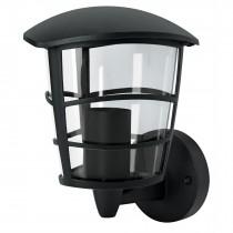 Arbotante farol soportado, moderno, lámpara no incluida