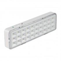 Lámpara de emergencia recargable 220 lm, 30 LED