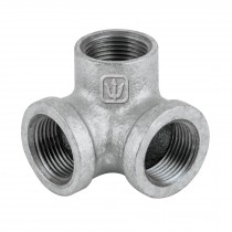 Codos rincón de acero galvanizado