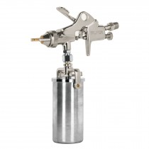 Pistola p/retoque succión, HVHP, vaso alum, boquilla 1.5 mm
