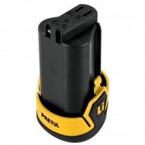 Batería ion litio, 12 V para taladro compacto, Pretul