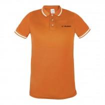 Playeras polo, dry fit para caballero, color naranja