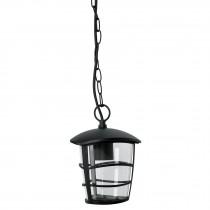 Arbotante farol colgante, diseño moderno, lámpara no incluida