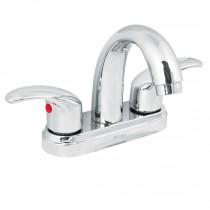 Mezcladora p/lavabo,manerales palanca,cuello alto,cromo,Aqua
