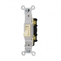Interruptor vertical de palanca, Standard, marfil