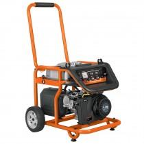 Generador eléctrico portátil con motor a gasolina, 1,800W