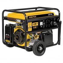 Generador eléctrico con motor a gasolina, 6,600W, Pretul