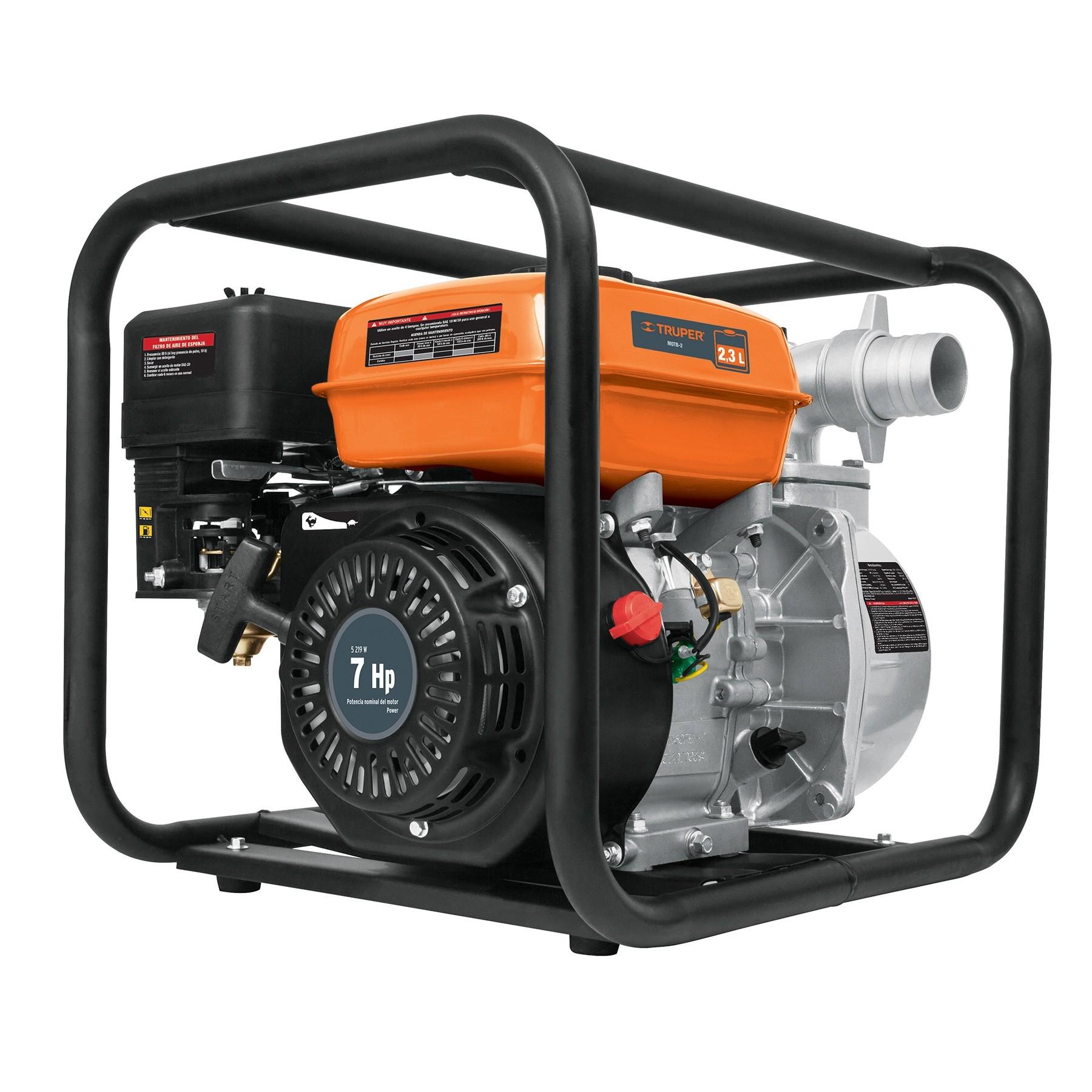 "Motobomba autocebante 2x2"", 7 HP, a gasolina"