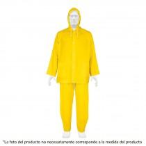 Conjunto impermeable,PVC,espesor 0.10mm,talla mediana,Pretul