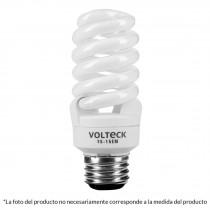 Lámpara 15 W, espiral mini, luz blanco neutro, T2, en blíster