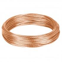 Cable cobre desnudo calibre 10 AWG, 25 m