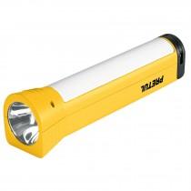 Linterna recargable con lámpara de emergencia, 280 lm, Pretul